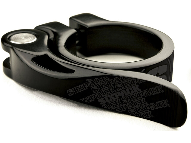 Sixpack Menace Collier de selle 34,9mm, stealth-black